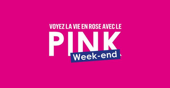 offre pink week-end de chez boursorama
